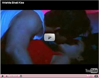 My Hot and Sexy Videos: Hrishita Bhatt Hot Sexy Kiss Scene on bed