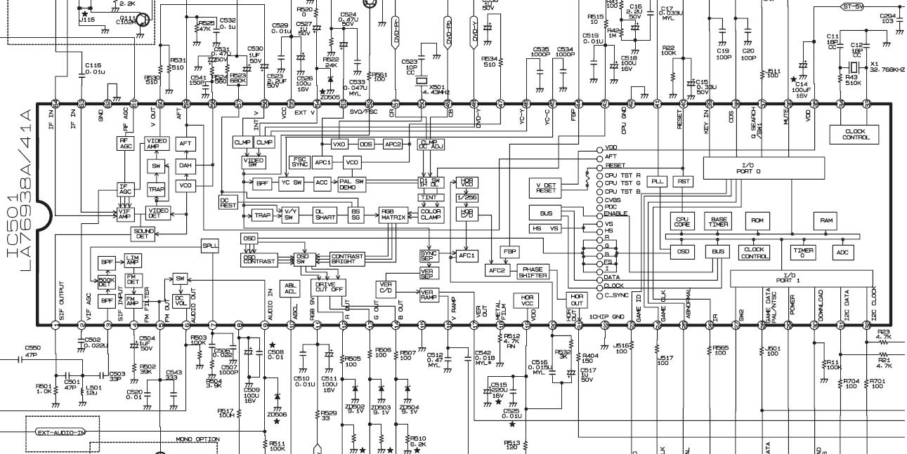service manual electronics  21fa3rl mc