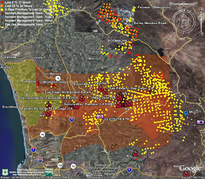 The Scratching Post Witch Creek Fire Map October 24 Updated