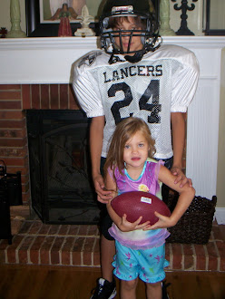 The Junior Lancer and his cheerleader..