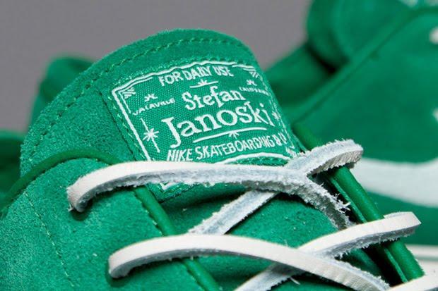 Nike Sb Zoom Stefan Janoski Pink Canvas Shoes
