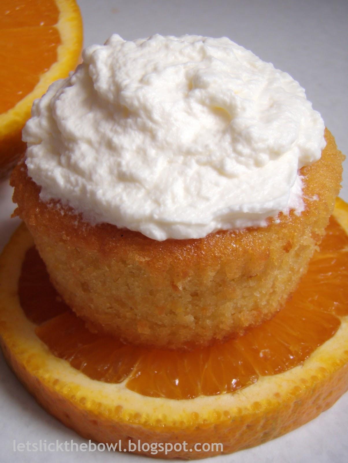 Gluten-Free Orange Almond Cupcakes