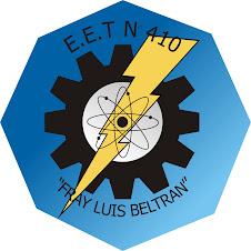 Logo de la EET Nº 410 Fray Luis Beltrán.