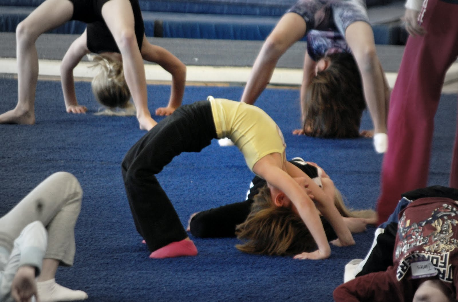 Child Back Bend