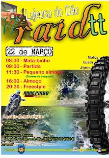 RaidTT lageosa do Dão 22 de Março de 2009