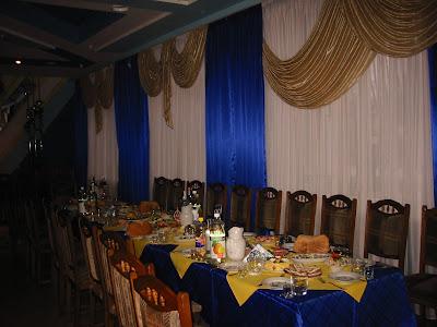 Zorepad Restaurant in Ternopil city (Western Ukraine)