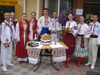 The Veseli Halychany Folk Band (Ternopil city, West Ukraine)