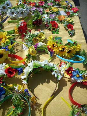 Hairband Flowers Wreath Invention From Ukraine By Natalia Lyashok City Of Ternopil