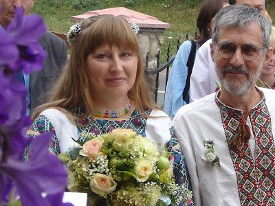 Ukrainian Bride Canadian Groom Wedding in Ukraine