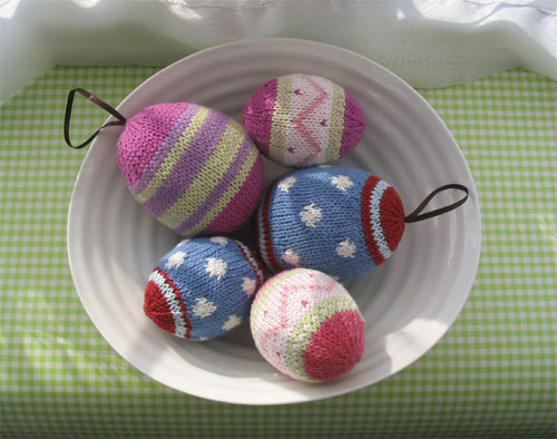 Knitted Easter Eggs