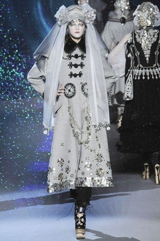 Galliano Ukrainian Themed Autumn Winter 2009 2010