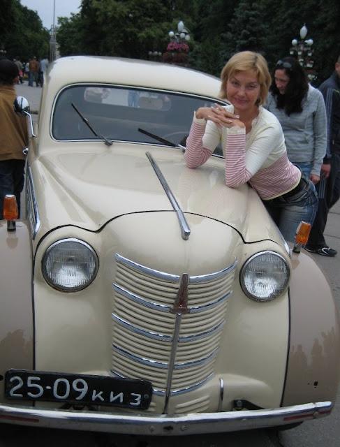 Moskvich 401 Ternopil Ukraine Nice Girl