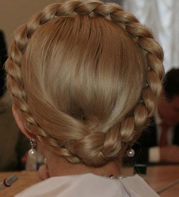 Famous Braid Of Ukrainian Prime Minister Yulia Tymoshenko