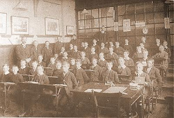 Sala de Aula em 1920