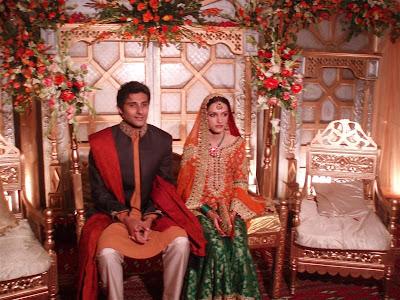 MeeraAnsari27sweddingpictures28DaughterofBushraAnsari29 - Pakistani Celebrities Wedding