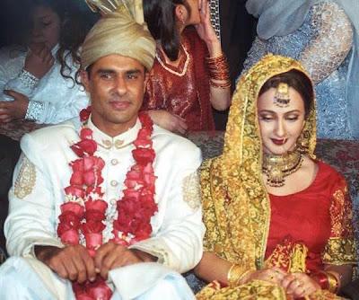 waqaryunisandhiswife - Pakistani Celebrities Wedding