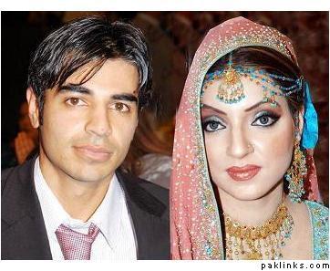 SalmanButtwithwifeGulHassan - Pakistani Celebrities Wedding