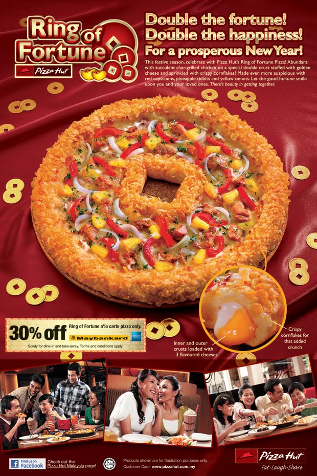 Pizza Hut - Ring of Fortune