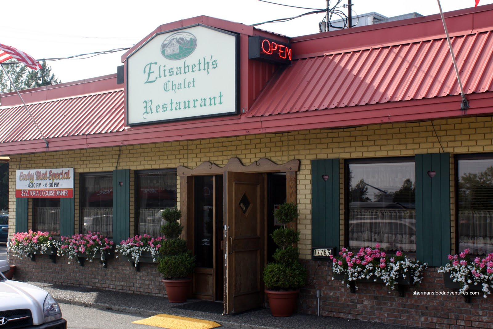 Sherman 39 s food adventures elizabeth 39 s chalet - Chalet cuisine ...
