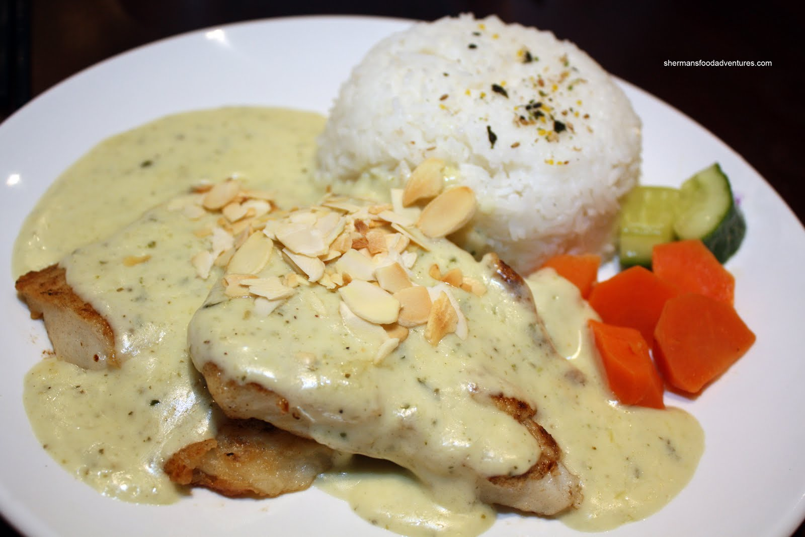 Parisian Fish with Almond Sauce | Stonesoup
