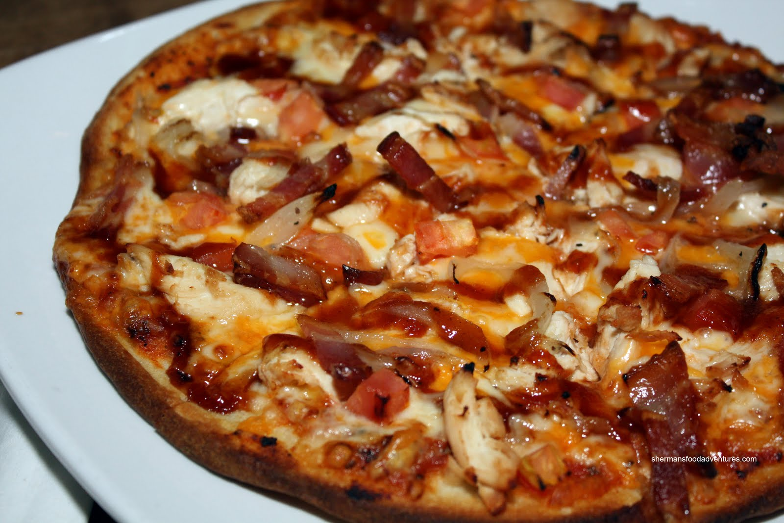 Barbecue Chicken Pizza Recipe — Dishmaps