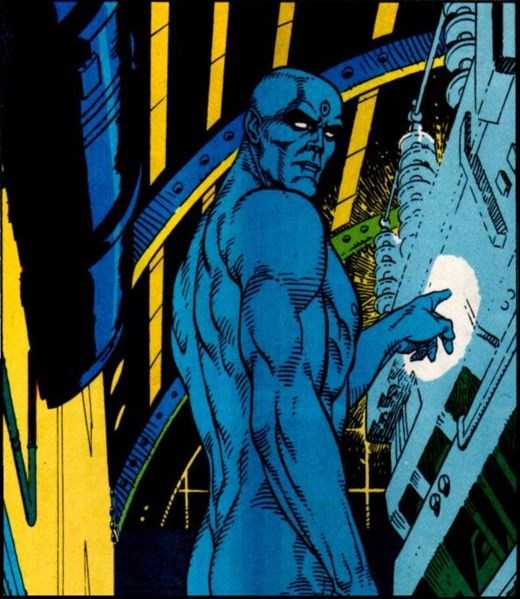 Dr. Manhattan badass comic book hero