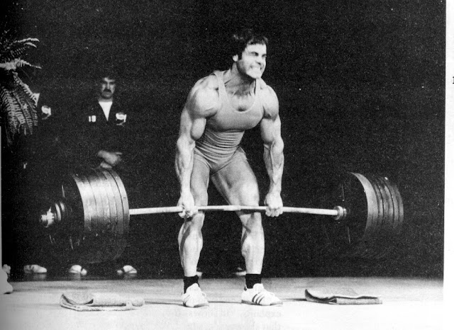 Heavy Deadlift only the mighty
