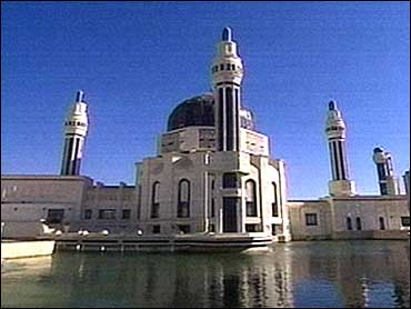SaddamMosque CBSPhoto Masjid Saddam di Iraq