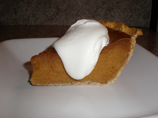 Excellent Pumpkin Pie