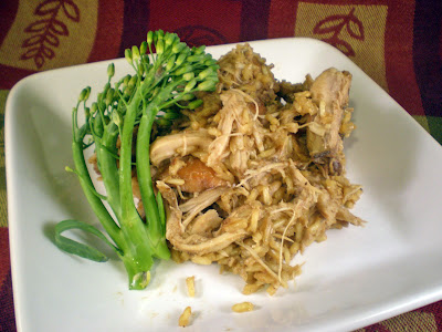Crockpot Wednesday: Filipino Chicken Adobo Rice