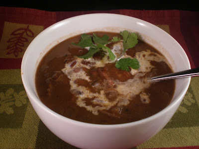 Crock Pot Wednesday: Chipotle black bean soup