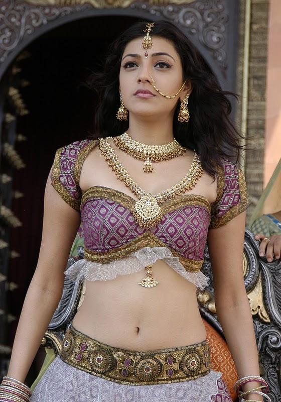 Posted in Hot , Kajal Agarwal , Navel show , Telugu Actress