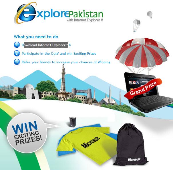 win prizes online free pakistan