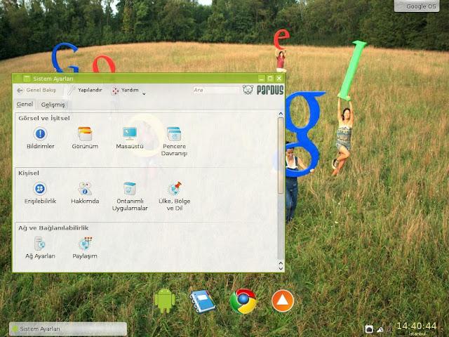 Pardus Google OS