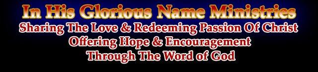 To His Glorious Name Ministries