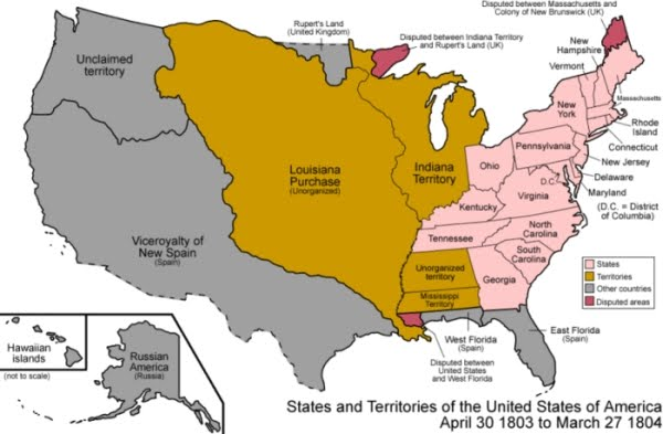 a report on the louisiana purchase 12082018 the greatest land deal in history that's the consensus on the louisiana purchase, a transaction in which the united states paid france $15 million for.