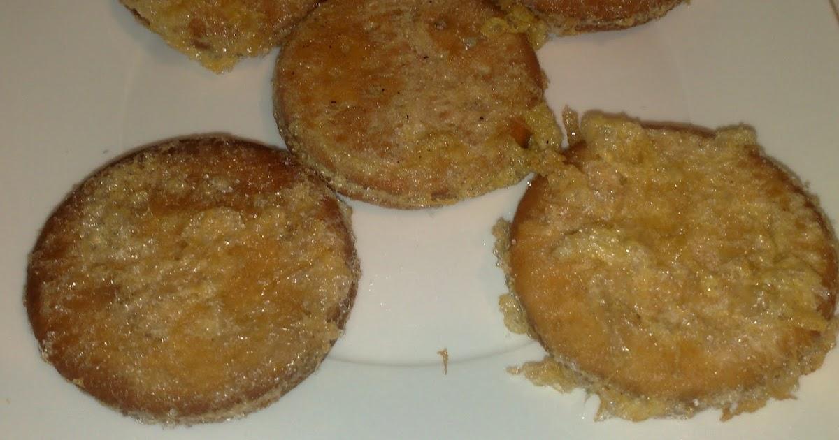 Cocina para novatos galletas fritas - Cocina para novatos ...