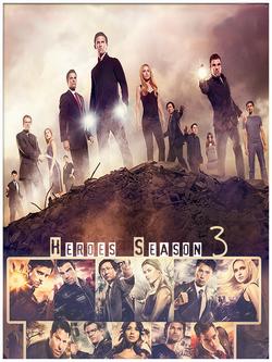 Heroes 3ª Temporada - Dublado