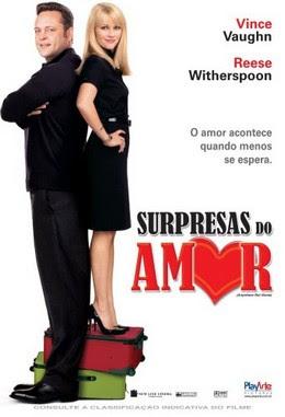 Filme Poster Surpresas do Amor DVDRip RMVB Dublado