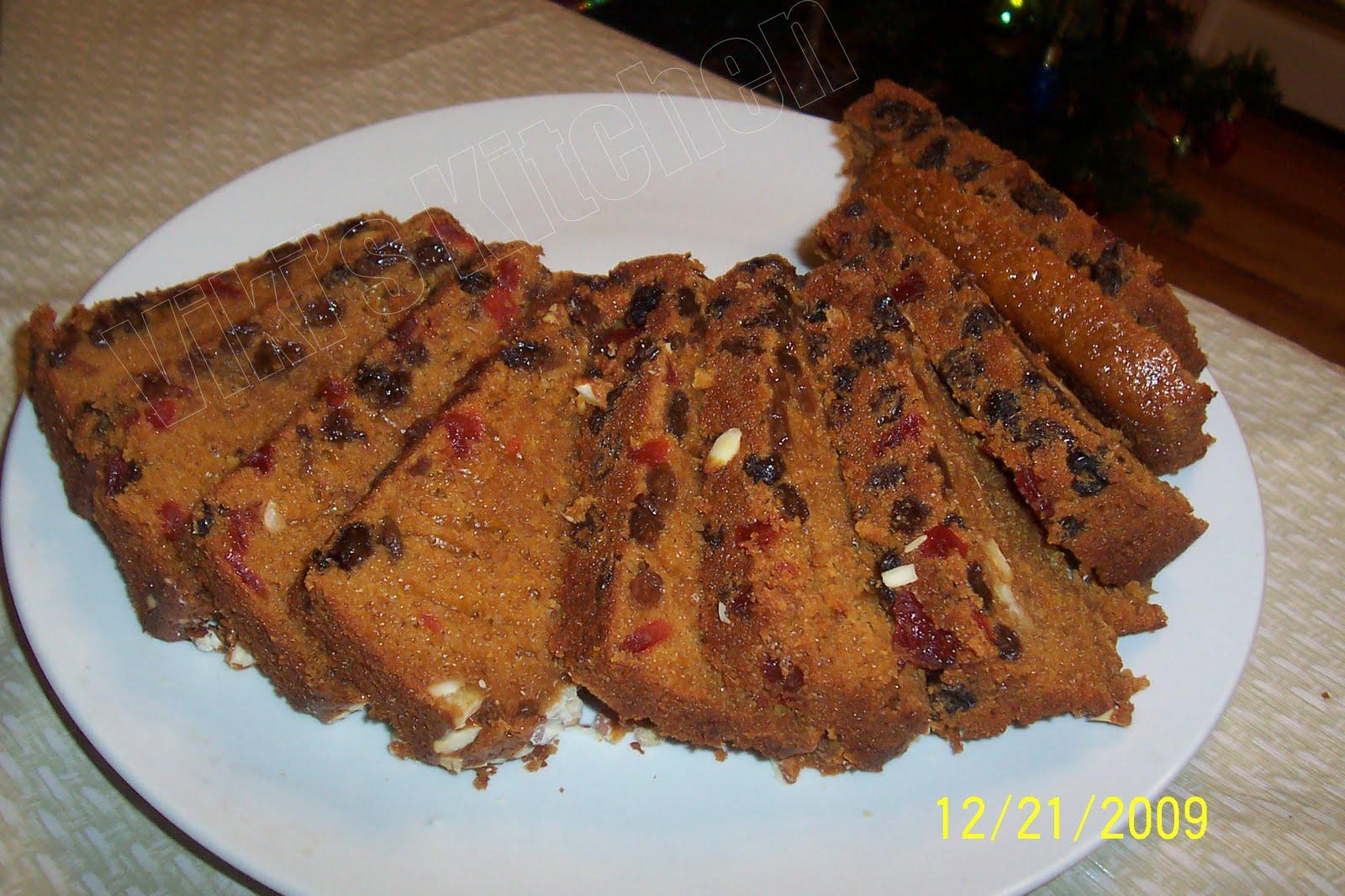 Low Sugar Plum Cake