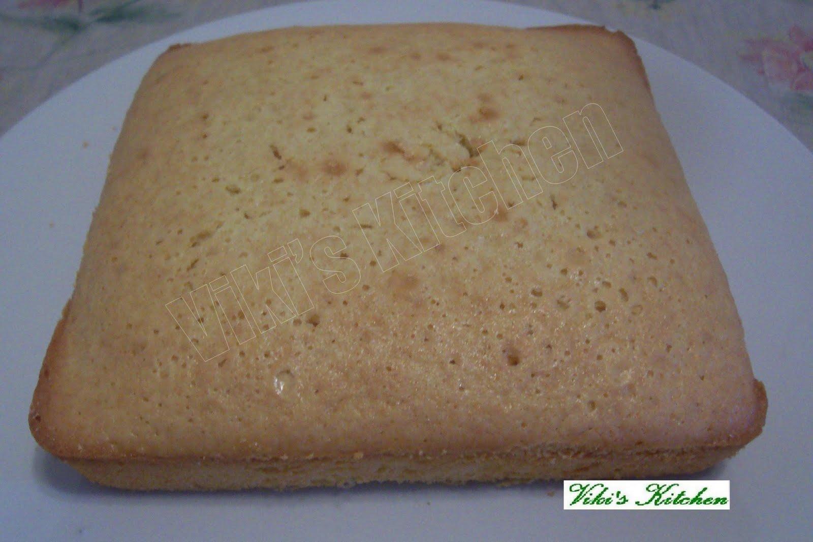 Cake Recipe Plain Cake Recipe From Scratch