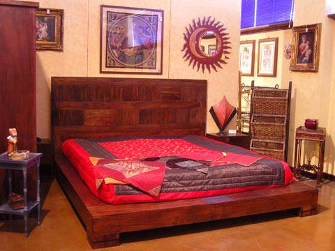 Decora y disena dise os de camas etnicas - Disenos de camas de madera ...
