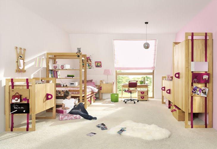 Decora y disena dormitorios divertidos para ni os - Dormitorios pequenos para ninos ...