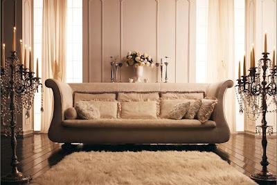 fotos de sofas elegantes