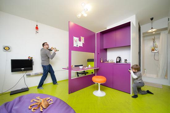 Лучшие дизайны однокомнатной квартиры