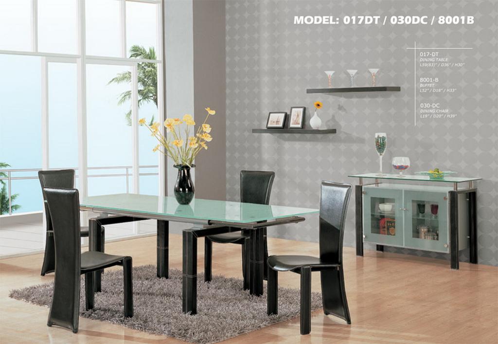 Decora y disena comedores modernos for Disenos de comedores de madera modernos