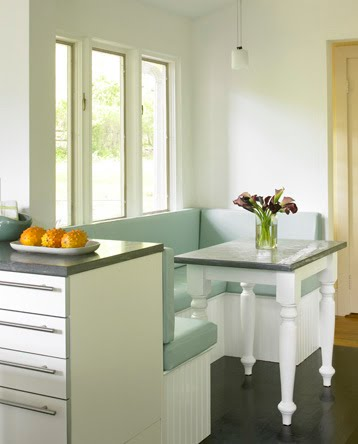 Decora y disena decoraci n de comedores para espacios - Comedores modernos para espacios pequenos ...