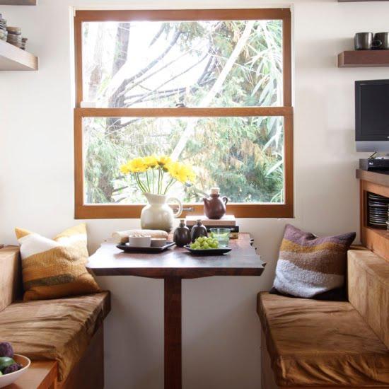 Decora y disena decoraci n de comedores para espacios for Salas para espacios pequenos