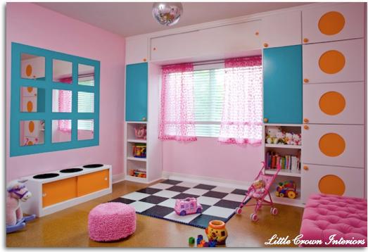 Cuarto de Juegos (Playroom) para Niñas