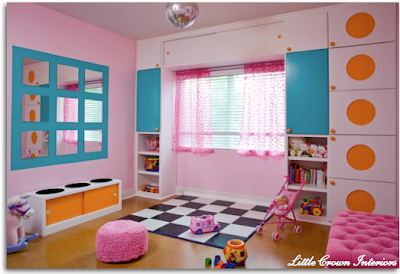 playroom ni%C3%B1as Cuarto de Juegos (Playroom) para Niñas
